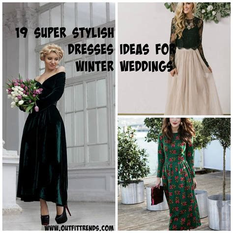 Outfits for Winter Wedding 19 Best Winter Dresses for Wedding