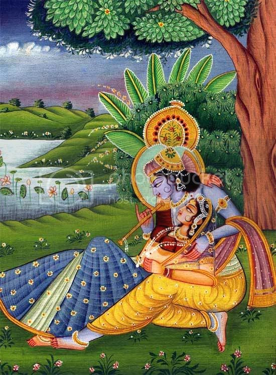 Most Beautiful radha krishna art pictures Myspace Orkut Friendster Multiply Hi5 Websites Blogs