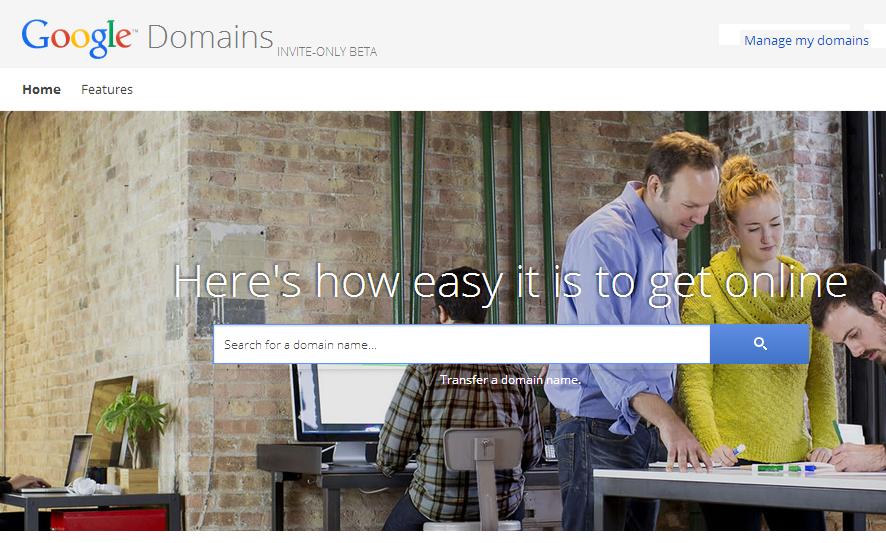 Google Domains Feat