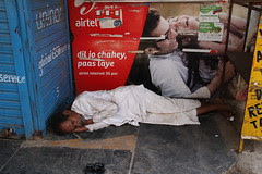 Street Photography is shooting another mans pain ...duplicating it on the viewers brain by firoze shakir photographerno1