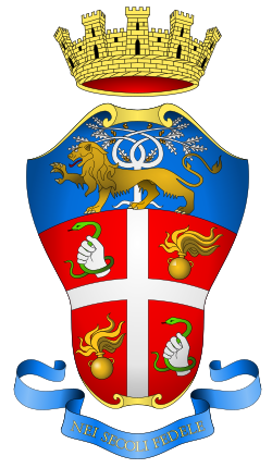 Coat of arms of the Carabinieri who arrested Mussolini