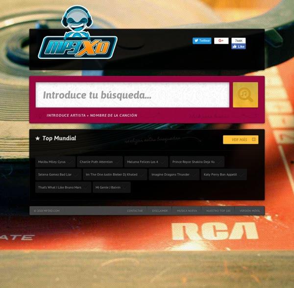 Mp3xd descargar musica gratis