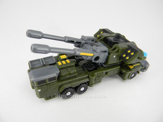 Transformers Bombshock con Combaticons Power Core Combiners - modo alterno