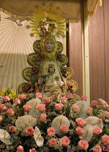 Imagen de la Virgen del Zaragoza