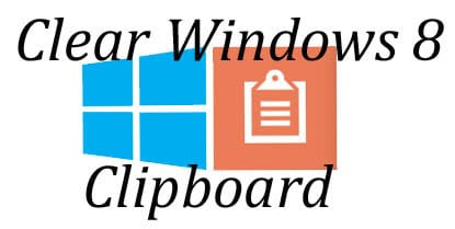 how to clear clipboard in windows server 2008 r2