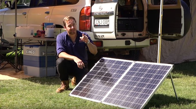 Solar Power Camping Like A Pro