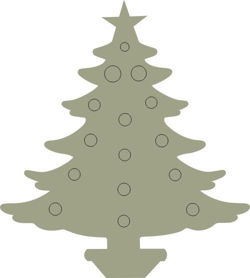 Christmas Tree 1 Pkt 10