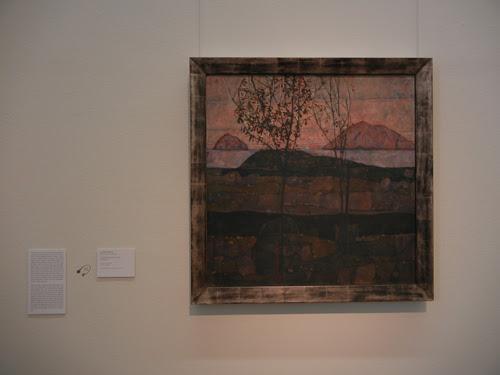 DSCN0901 _ Versinkende Sonne, Egon Schiele, Leopold Museum