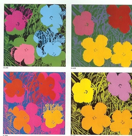 Flowers - Andy Warhol flower-power