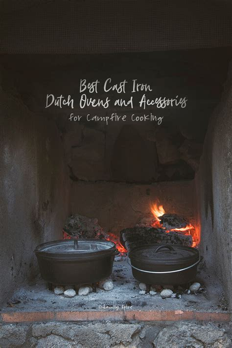 cast iron dutch ovens  accessories  campfire