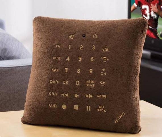 Pillow Remote Control aka Comfy Channel Switcher
