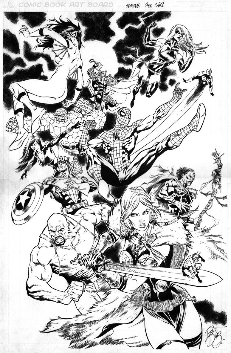 160 Dibujos De Los Vengadores Para Colorear Oh Kids Page 4