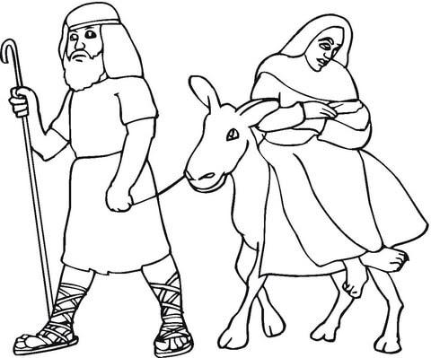 Josef In ägypten Ausmalbilder