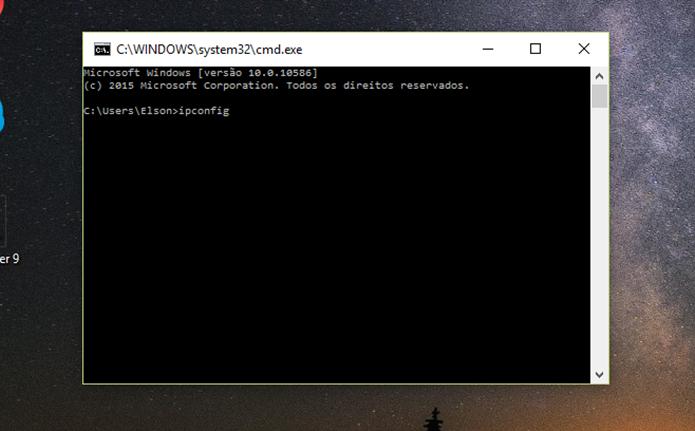 Usuário precisa descobrir o endereço da configuração do modem para verificar roubo de Wi-Fi (Foto: Reprodução/Elson de Souza)