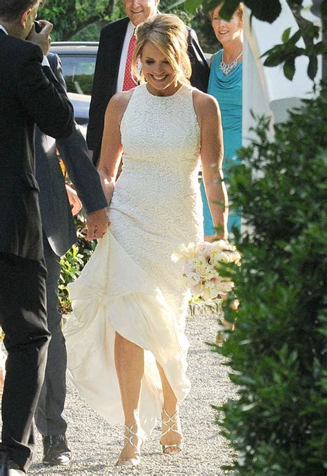 Katie Couric Married: See Her Wedding Dress ? Hollywood Life