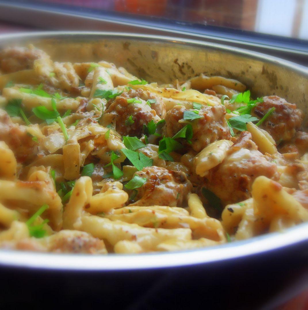nigel slater sausage pasta