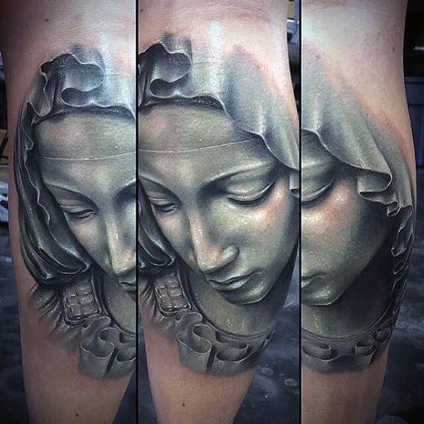 100 Virgin Mary Tattoos For Men Religious Design Ideas
