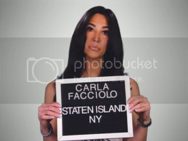 Carla Facciolo of VH1's Mob Wives