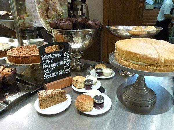 pastries at saint paul's