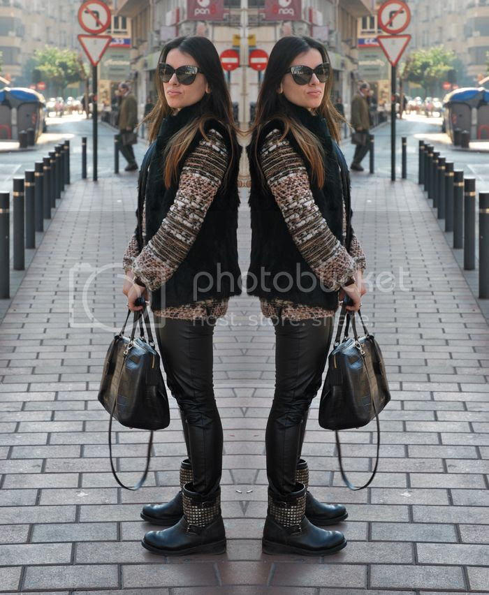 Leather pants Furvest Streetstyle