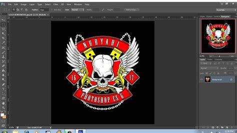 desain logo komunitas motor  youtube