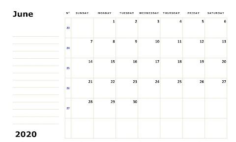 Calendar 2020 Excel Singapore