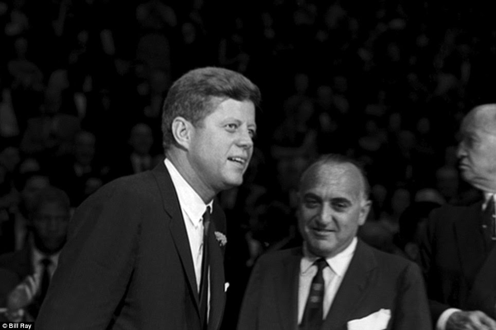 John F. Kennedy at Madison Square Garden for the 'Birthday Salute' in his honor, New York, May 19, 1962