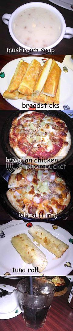 pizza hut express set lunch
