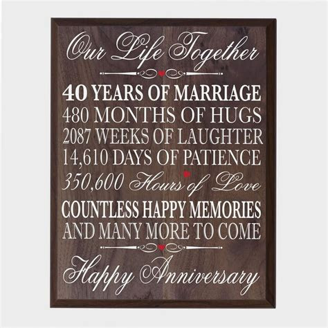 Cheap 40 Wedding Anniversary Quotes, find 40 Wedding