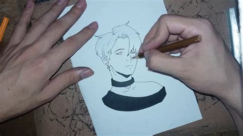 jimin anime bts speed drawing youtube