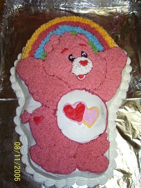 Creative Cakes By Angela: Love A Lot Care Bear