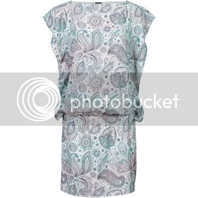 Paisley Printed Summer Dress