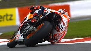 MotoGP FP2 Silverstone Marquez