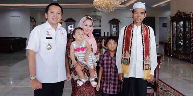 Gubernur Ridho Bersama Keluarga Silaturrahmi Dengan Ustadz ...
