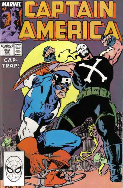 Cover Captain America #364