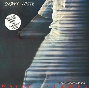 WHITE, SNOWY white flames