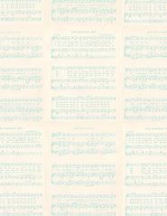 15 Vintage Christmas sheet music light GF - standard or letter size 350dpi