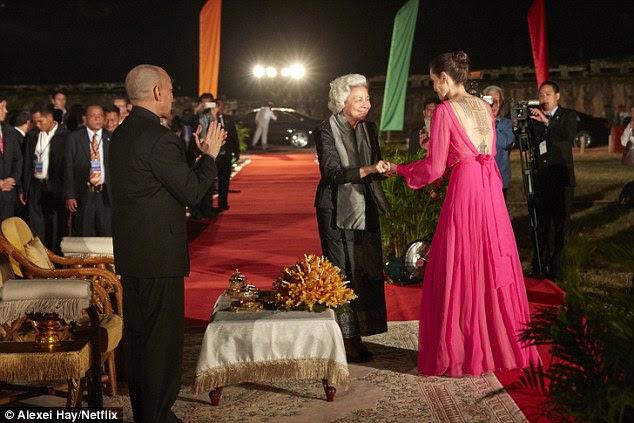 Ocasião especial: Foi uma ocasião muito especial para a atriz e diretora