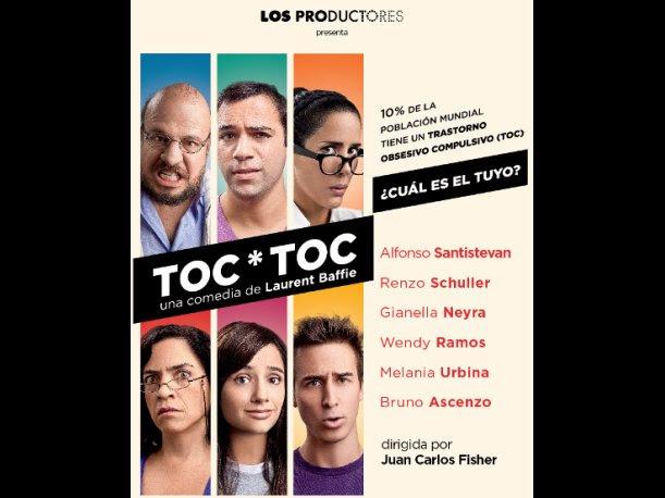 Toc*Toc arranca temporada en el Teatro Mario Vargas Llosa