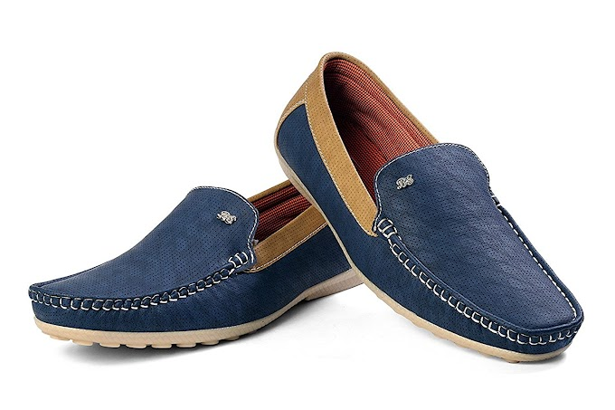 SHC Blue Loafer for Men