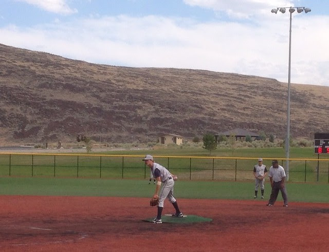 Jack pitching