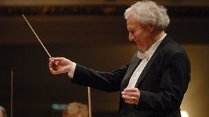 Sir Colin Davis at the Proms in 2011