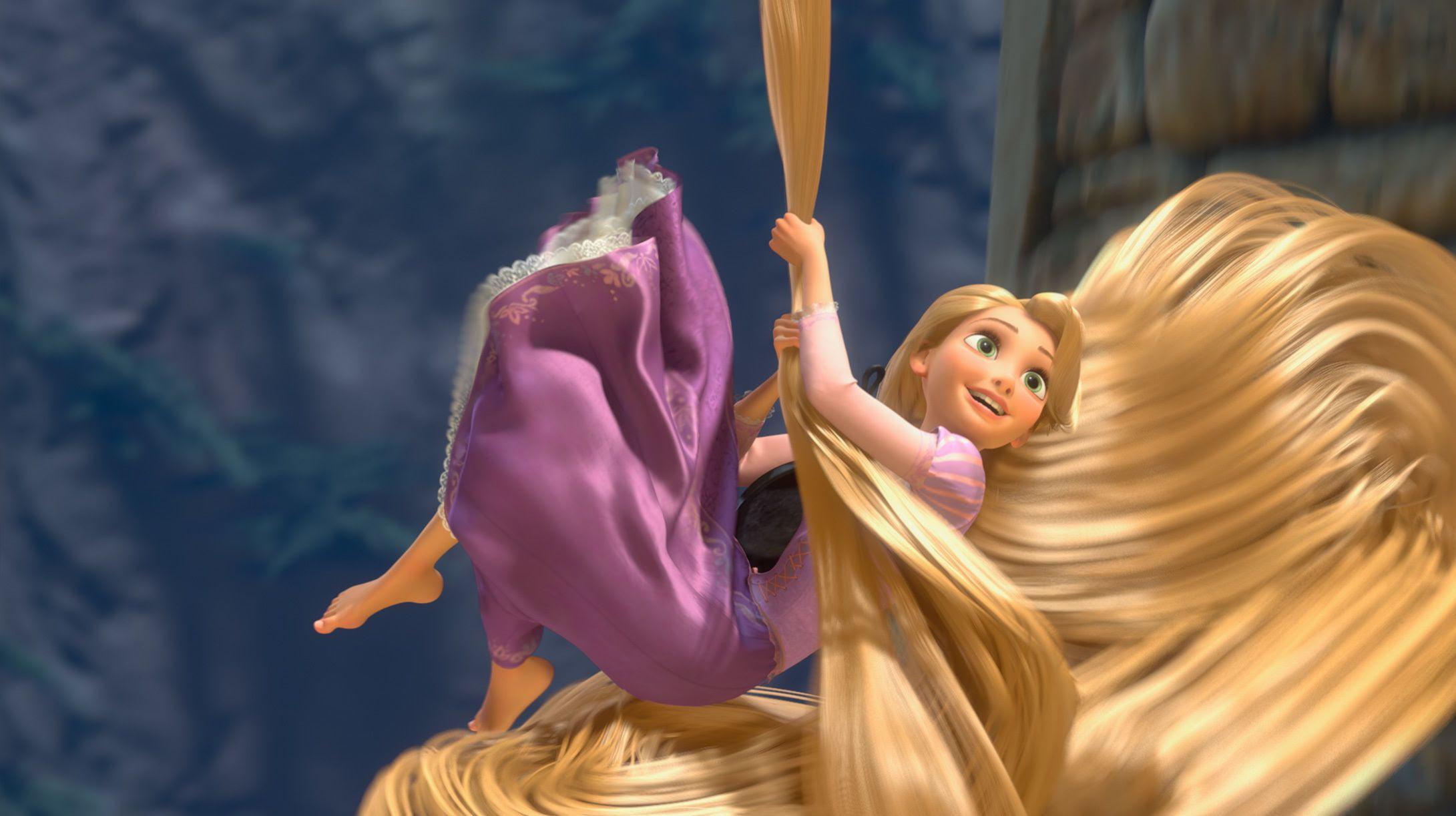 Panjang Rambut Rapunzel Hingga 21 Meter Ini 10 Fakta Princess Disney Semua Halaman Bobo
