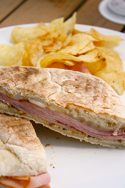 Scamorza e Prosciutto Miele Panini (S$10.80): Scarmoza cheese and honey ham on grilled ciabatta