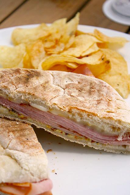 Scamorza e Prosciutto Miele Panini (S$10.80): Scarmoza cheese and honey ham on grilled ciabatta