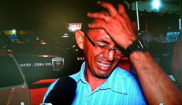 Wiclay de Jesus da Silva Freire pegou um ônibus e procurou a polícia para confessar o crime (Foto: Reprodução/Inter TV Cabugi)