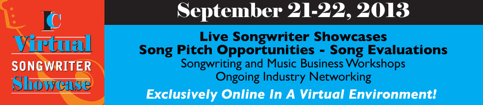 Registration For The IC Virtual Songwriter Showcase Is Now Open