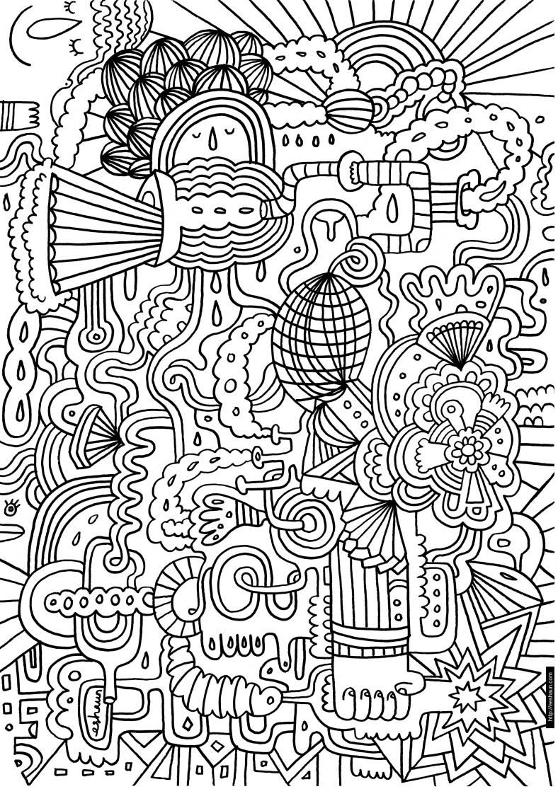 Crayola Coloring Pages for Adults - Learning Printable