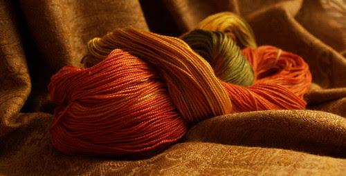 Hand Maiden Sea Silk, 'autumn'