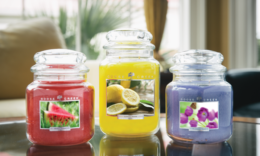 Goose Creek Candles Warm up Your Home